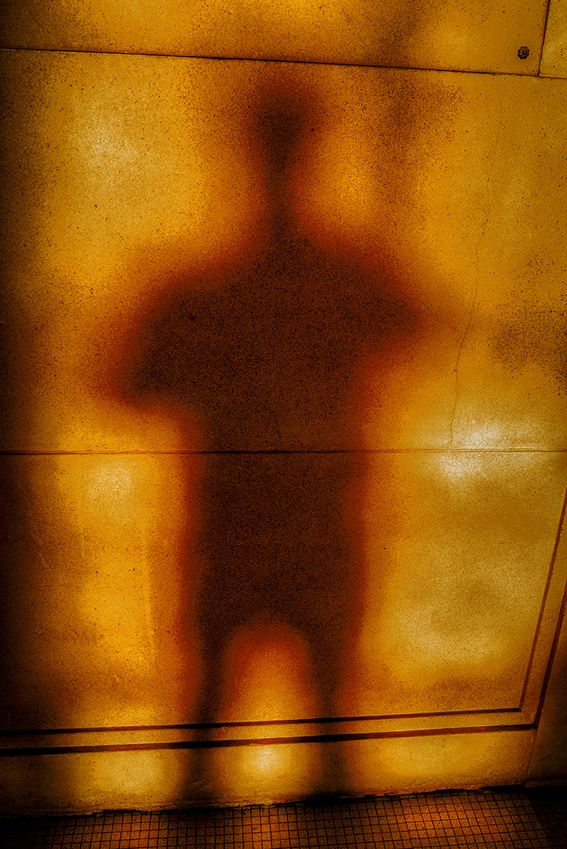 Yellow Shadow Self-Portrait