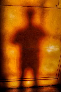 Yellow Shadow Self-Portrait