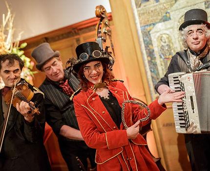entertainment tijden diner artiesten