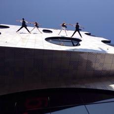 Vertical Wall Dance
