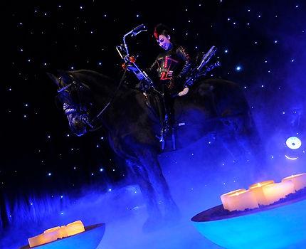 entertainment tijdens diner circus