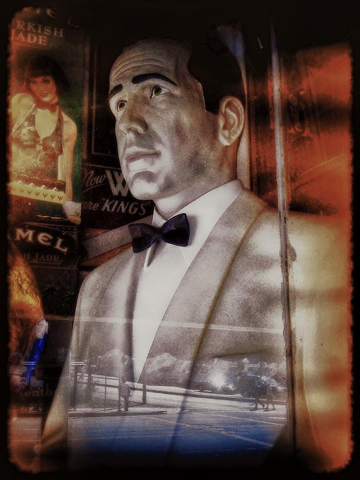 Bogart in the Window