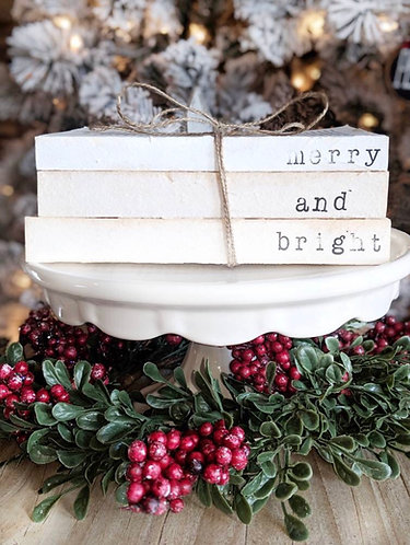 Christmas Stamped Book Sets