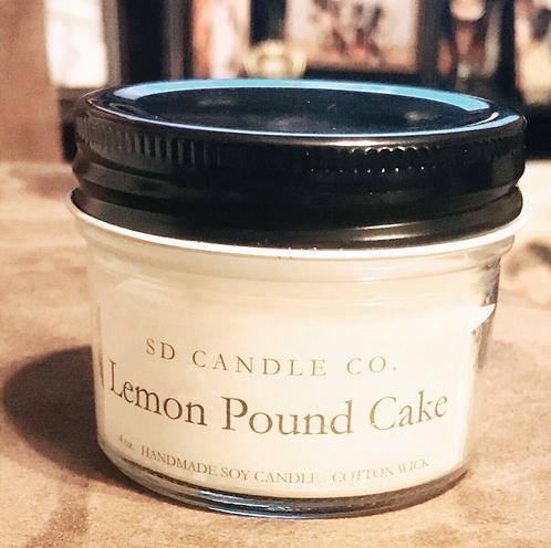Lemon Pound Cake Soy Candle