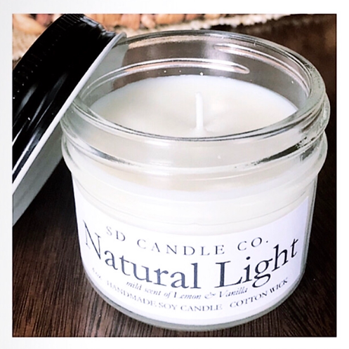 Natural Light Soy Candle