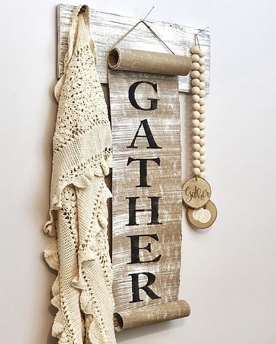 Gather Paper Scroll