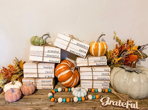 Fall Book Sets (Set of 3)