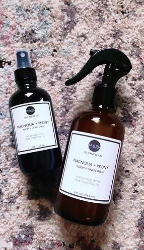 Magnolia & Peony Room & Linen Spray