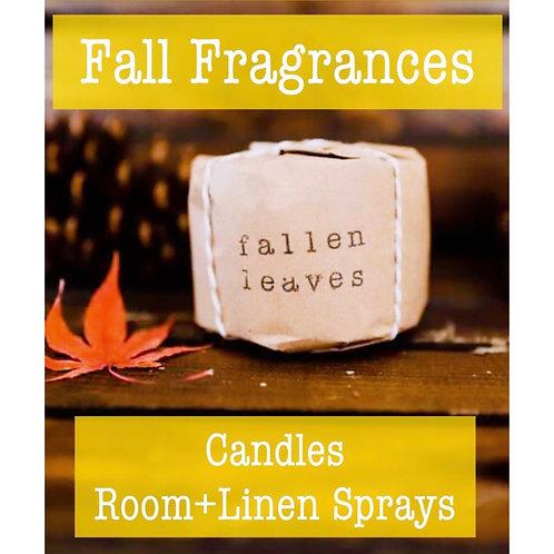 Fall Candles & Room + Linen Sprays