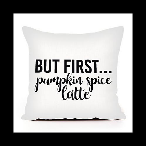BF Pumpkin Spice Latte Pillow Cover