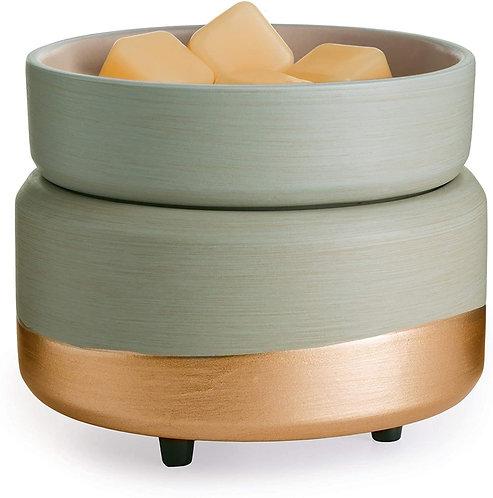 Ceramic & Gold Wax Warmer