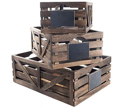 Farmhouse Decorative Storage Set of 3