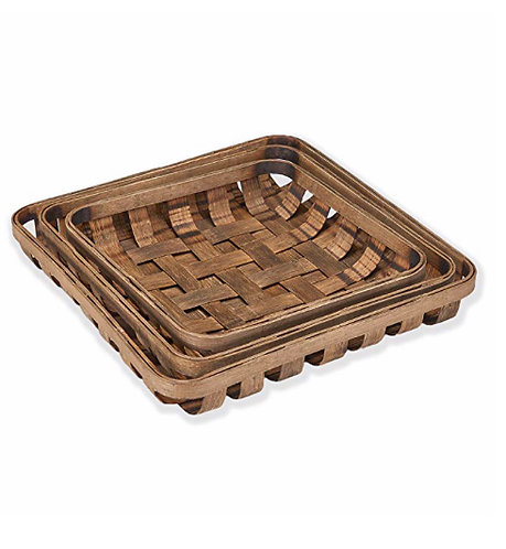Decorative Tobacco Basket Set