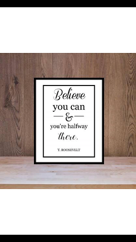 Believe You Can Printable