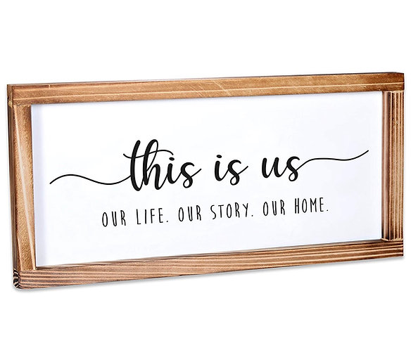 This Is Us a Farmhouse Sign