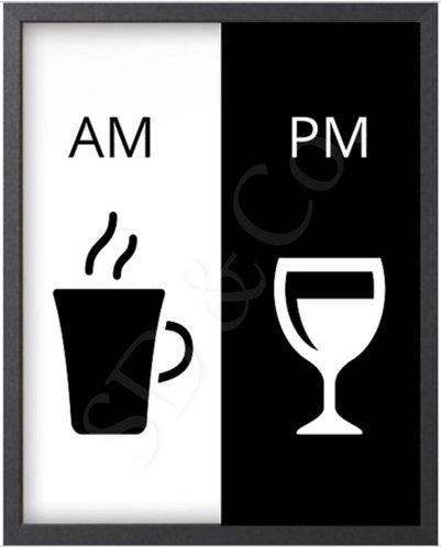 """AM/PM"" Digital Prints"
