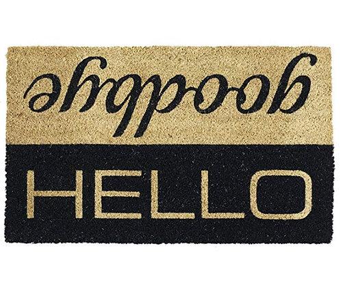 """""""Hello, Goodbye"""" Doormat"""