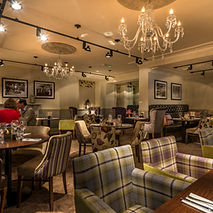 Relax with a pot of tea or coffee and cake in the lounge at the King's Head