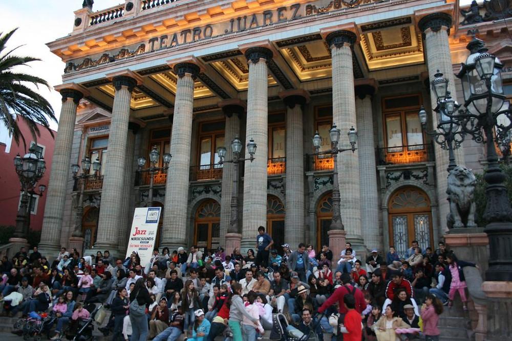 Teatro Juarez, Guanajuato, Mehhiko