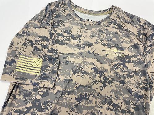 Digi Camo Military Tribute T-Shirt