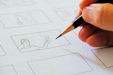 hand drawing storyboard idea.jpg