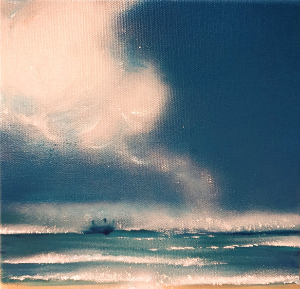 Navire au large