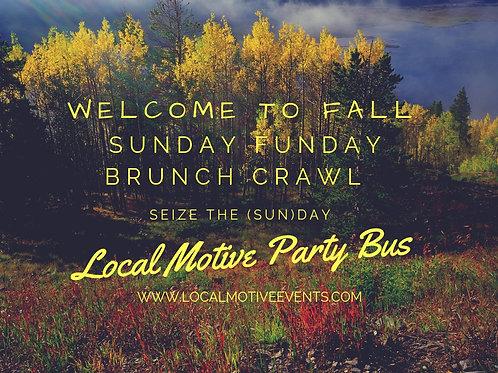 Sunday Brunch Crawl - Sept 30th