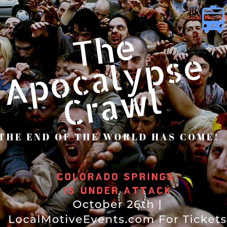 Zombie Apocalypse Party Bus Bar Crawl