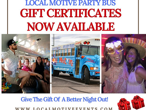 GIFT CERTIFICATE -The Best Gift Ever!