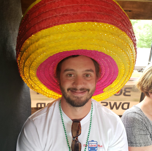 Dont forget the sombreros