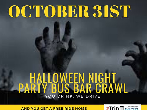 HALLOWEEN NIGHT DIVE BAR CRAWL - OCT 31ST