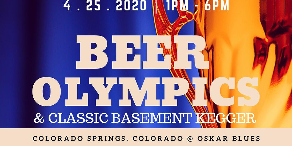 Beer Olympics Classic Basement Kegger Party