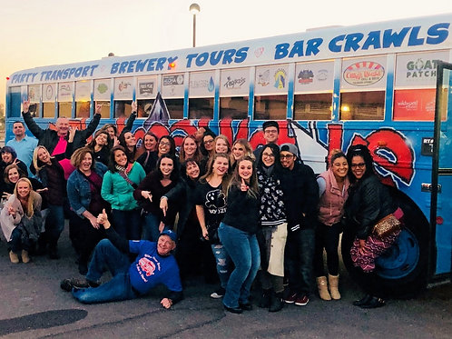 Hype Bar Party Bus Crawl!