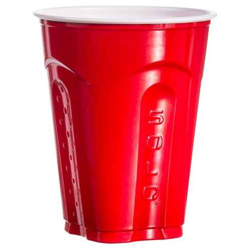 New Years Discounted Red Solo Cup - Oskar Blues Kegger