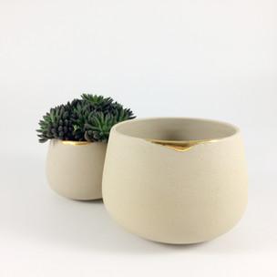 exemple d'un ensemble de tasses coulure // VENDU