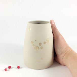vase éclaboussure n°13 // VENDU