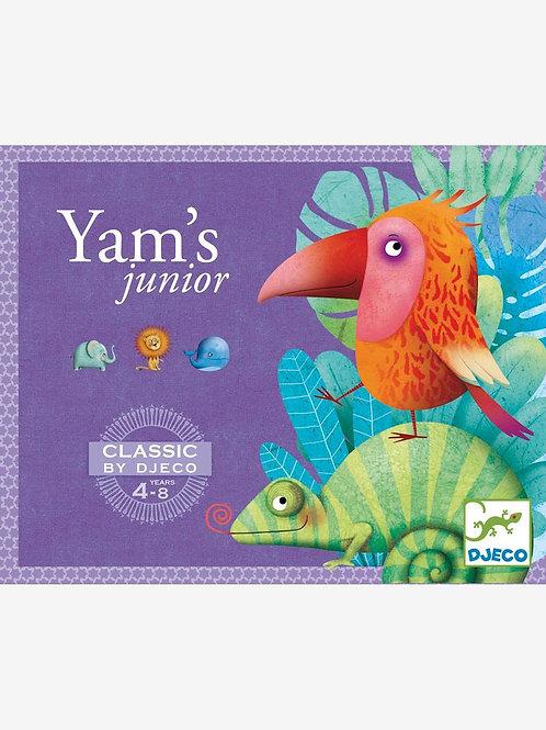 Yam's junior- Jeux de cartes DJECO