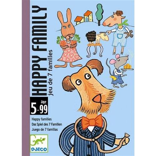 Happy family - Jeux de cartes DJECO