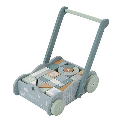 Chariot de cubes - Little Dutch