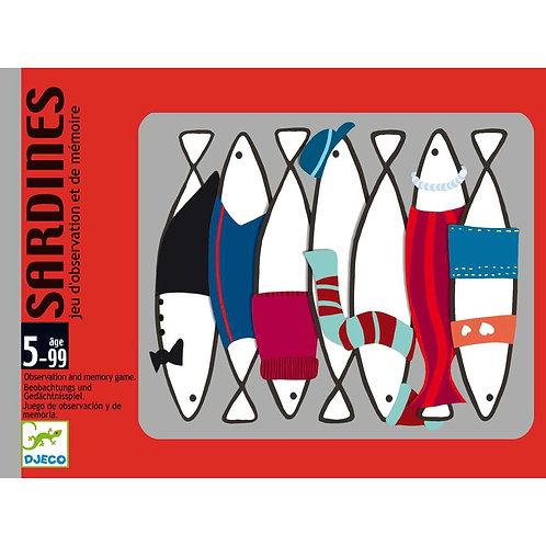 Sardines - Jeux de cartes DJECO