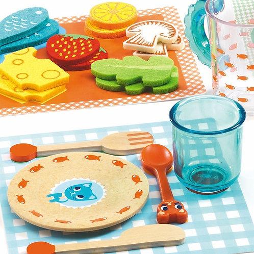 A table les chats ! - Jeux d'imitation - Gourmandises DJECO