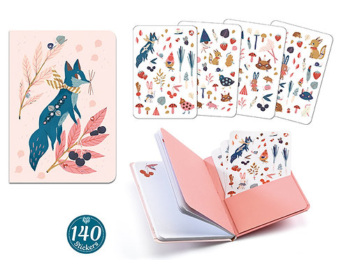 Carnet stickers Lucille