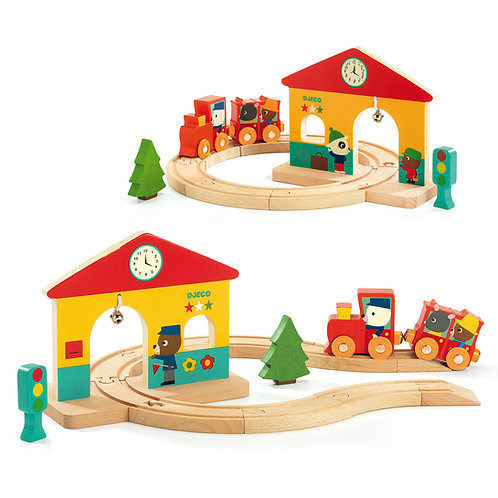 Petit Train en Bois Minitrain