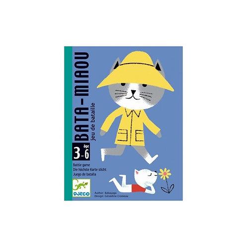 Bata miaou - Jeux de cartes DJECO