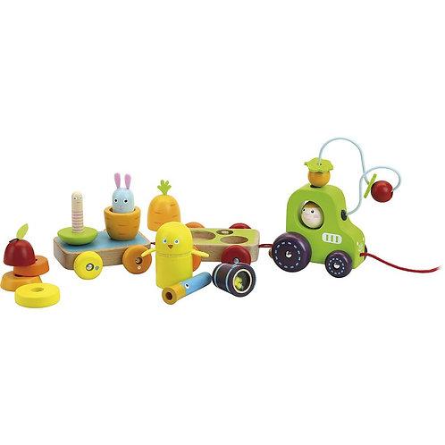 Tracteur multi-activités Jour de récolte