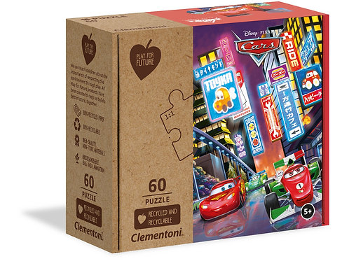 Cars - 60 pcs maxi CLEMENTONI