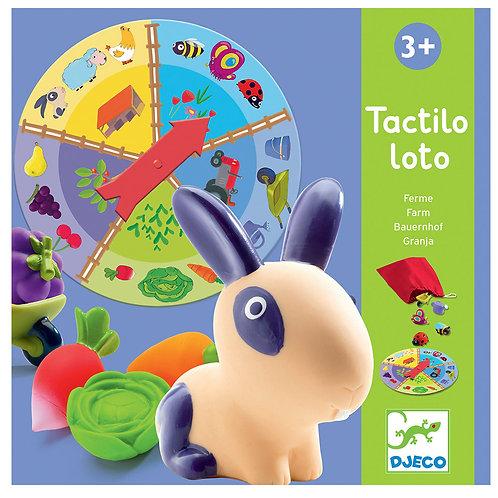 Tactilo loto ferme - Jeux éducatifs DJECO
