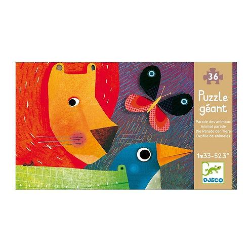 La parade des animaux - Puzzles géants DJECO