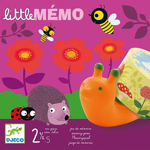 Little mémo - Jeux de cartes DJECO