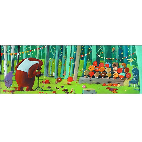 Forest friends - 100 pcs - Puzzles Gallery DJECO